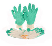 Economic gloves Stock Photos