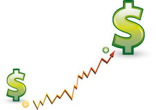 Economic growth Royalty Free Stock Photography
