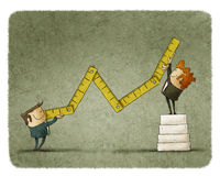 Economic growth concept Stock Photo