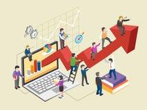 Economic growth concept Royalty Free Stock Photos