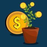 Economic growth design Royalty Free Stock Image