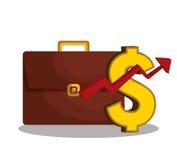 Economic growth design Stock Photography