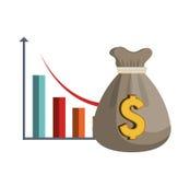 Economic growth design Stock Photo