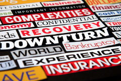 Economic Headlines Royalty Free Stock Images