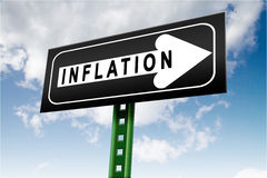 Economic inflation Stock Photo