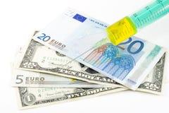 Economic Injection Royalty Free Stock Image