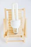 Economic lamp Royalty Free Stock Images
