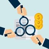 Economic obligations design. Illustration eps10 graphic Royalty Free Stock Image