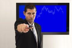 Economic professor Royalty Free Stock Images