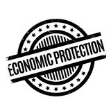 Economic Protection rubber stamp Royalty Free Stock Photo