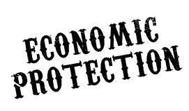 Economic Protection rubber stamp Stock Images