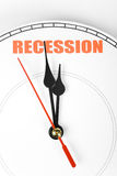 Economic Recession Royalty Free Stock Photo