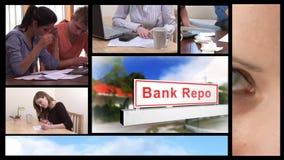 Economic Recession concept animation stock video