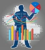Economic Results presentation. Stock Image