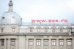 Economic studies university Royalty Free Stock Photo