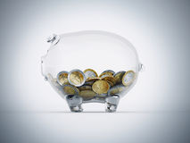 Economic transparency Royalty Free Stock Photo