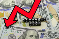 Economic trap Royalty Free Stock Photography