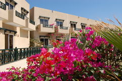 Economical hotel, Sharm el Sheikh, Egypt Royalty Free Stock Image