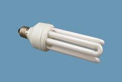 Economical lamp. Energy saving lamp. Isolated image Royalty Free Stock Photos