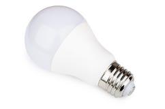 Economical led light bulb isolated on white Royalty Free Stock Photography