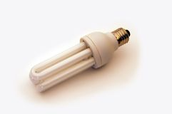 Economical Light bulb royalty free stock image