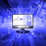 Economical Stock market chart Stock Photos