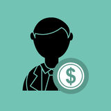 Economics concept design Royalty Free Stock Photos