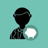 Economics concept design Stock Image