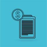 Economics concept design Stock Images