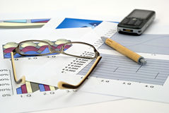 Economics and finance Royalty Free Stock Photos