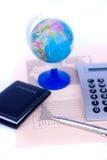 Economics plan Stock Images