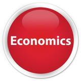 Economics premium red round button Stock Photography