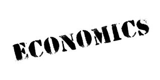 Economics rubber stamp. Grunge design with dust scratches. Effects can be easily removed for a clean, crisp look. Color is easily changed Stock Photo