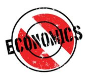 Economics rubber stamp. Grunge design with dust scratches. Effects can be easily removed for a clean, crisp look. Color is easily changed Stock Image