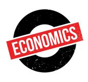 Economics rubber stamp. Grunge design with dust scratches. Effects can be easily removed for a clean, crisp look. Color is easily changed Stock Photography