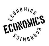 Economics rubber stamp Royalty Free Stock Image