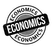 Economics rubber stamp Stock Images