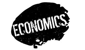 Economics rubber stamp Royalty Free Stock Photo