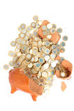 Economie weg royalty-vrije stock fotografie
