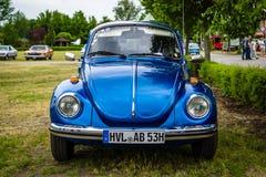 Economieauto Volkswagen Beetle, 1973 Royalty-vrije Stock Afbeeldingen