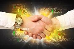 Economiehanddruk Stock Fotografie