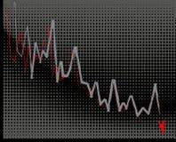 Economische crisis Royalty-vrije Stock Foto's