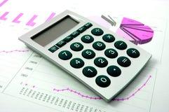 Economische grafiek Stock Fotografie