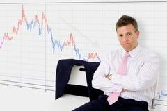 Economische recessie Royalty-vrije Stock Foto's