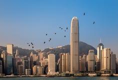 Economische sector en gebouwen Stock Foto