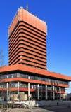 """Economische Universiteit van bouw van het Collegiumaltum van Poznan †de """"in Poznan, Polen Stock Afbeelding"""