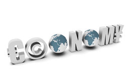 Economy. Global Concept in 3d of a Country Royalty Free Stock Photos