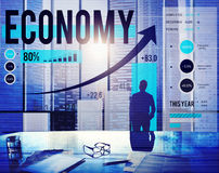 Economy Accounting Financial Investment Money Concept Royalty Free Stock Photography