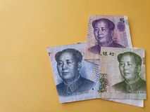 Free Economy And Finance With Chinese Money Royalty Free Stock Images - 164515649
