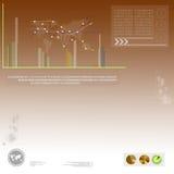 Economy background Stock Images